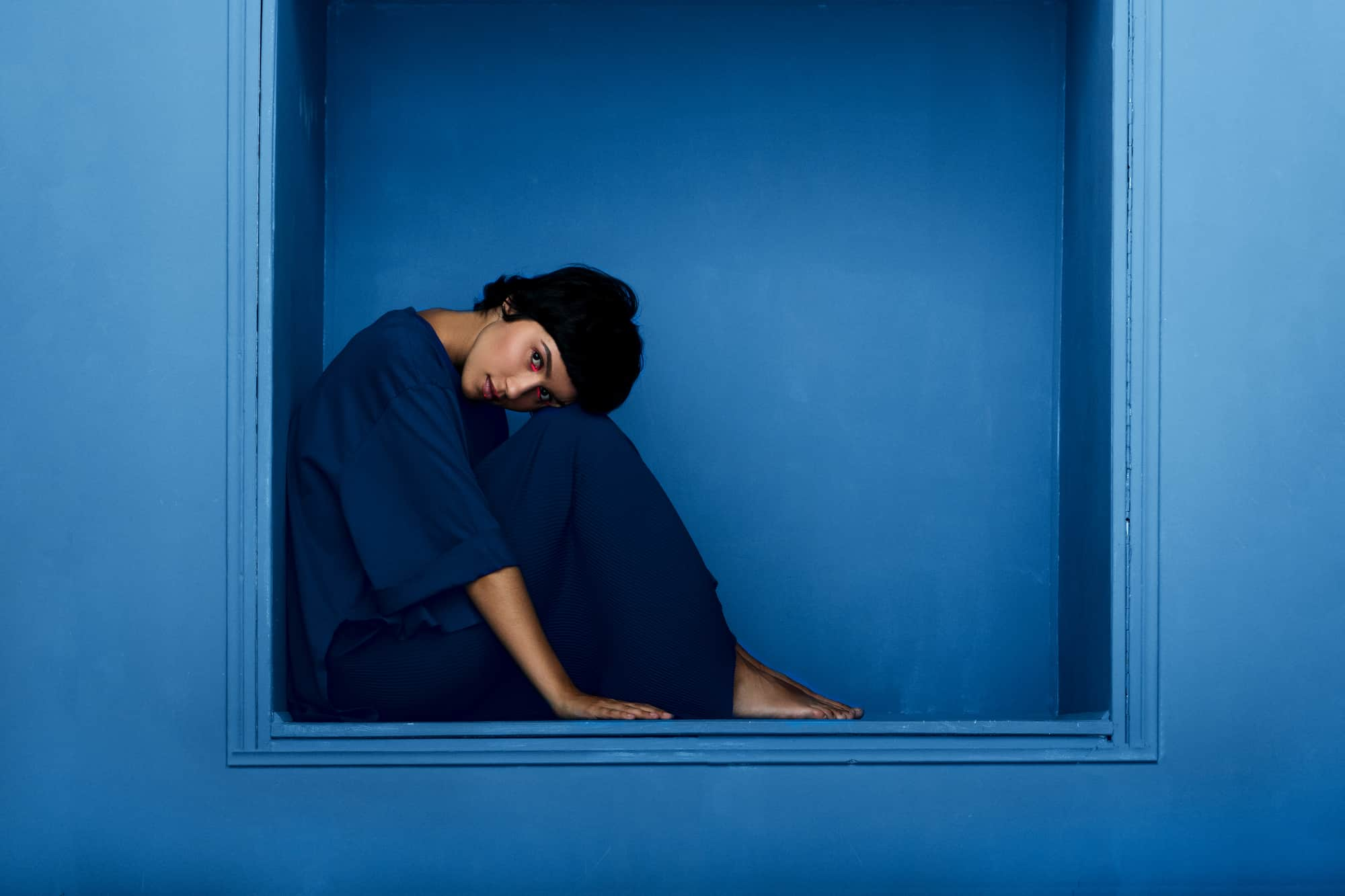 blue represents serenity, calmness, peace, and imagination