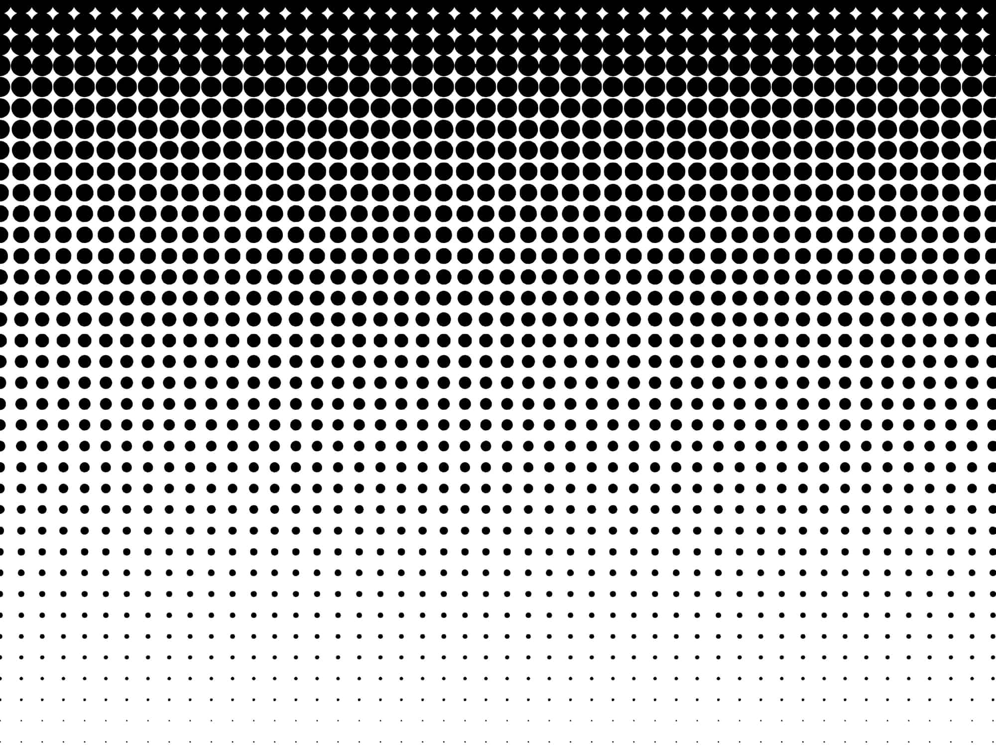 halftone explained in simple words