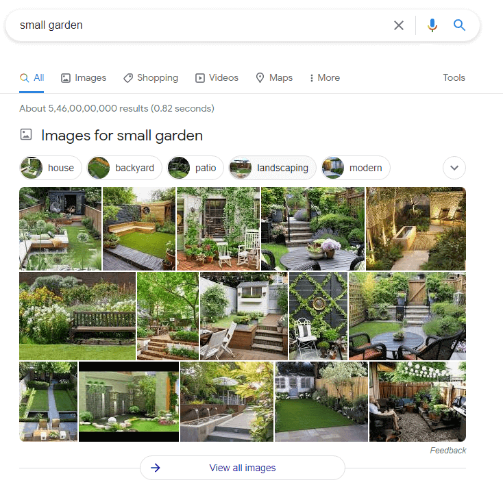 google image search results seo for photographers
